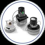 Weber Saugmotoren für Reinigungsgeräte