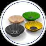 Weber Seitenbesen für Reinigungsgeräte
