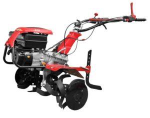 Professionelle Motorhacke B70 mit drei Geschwindigkeiten zur Pflege und Säuberung von Böden und Grünflächen