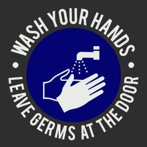 Logomatte Händewaschen