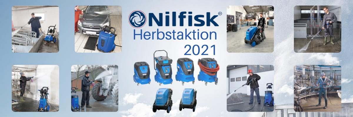 Nilfisk Herbstaktion 2021